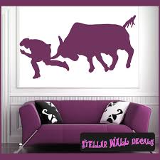 Bull Riding Cowboy Rodeo Sport Vinyl Wall Decal Wall Sticker Car Sticker Rodeost008 Swd