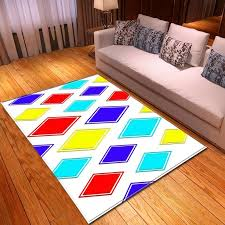 Nordic Geometric 3d Colour Lattice Carpets For Living Room Bedroom Decor Floor Rug Kids Play Area Rugs Child Game Crawl Mat Carpet Corporation Discount Commercial Carpet From Herbertw 17 56 Dhgate Com