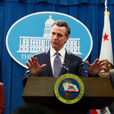Gov. Gavin Newsom of California Orders ...