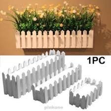 Wedding Home Decoration Diy Hanging Ornament Planter Wooden Fence Shopee Philippines