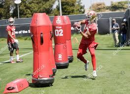 Dres Anderson San Francisco 49ers Wide Receiver Foto editorial en ...