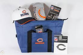 chicago bears gift basket nfl cooler
