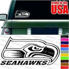 Seattle Seahawks Nfl Decal American Football Cool Car Window Bumper Sticker 5 99 Picclick