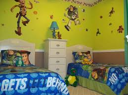 Toy Story Bedroom Decor Cool Kids Theme Ideas Wallpaper Bedding Full Size Canvas Painting Framable Art Water Room Sticker Design Andy S House Apppie Org