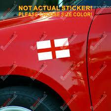 2 X 12cmx7cm England St George S Cross Flag Uk Car Bumper Decal Sticker Ebay