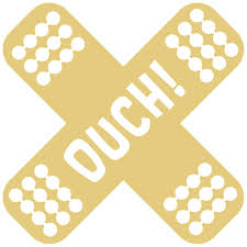 Ouch Plaster Sticker Dubberware Stickers T Shirts Club Branding