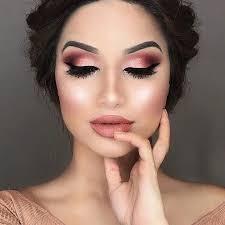 makeup with rose gold dress saubhaya
