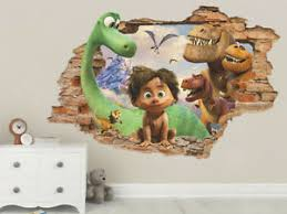 The Good Dinosaur 3d Wall Decal Wall Sticker Removable Vinyl Sticker Ebay