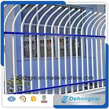 China Hot Sale Quality Decorative Antique Strong Safety Spear Top Fence Panels Wrought Iron Fence For Home And Garden School China Fence Metal Fence