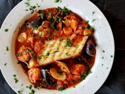 Cioppino another great dish for solo ...