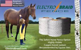 Electrobraid Fence Now Available Exclusively Through Woodstream S Distribution Network