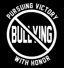 Anti Bullying No Bullying Pursuing Victory With Honor Vinyl Window Sticker Decal Ebay