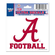 Alabama Car Decals Alabama Crimson Tide Bumper Stickers Decals Fanatics