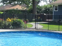 Black Self Closing Gate Pool Fence Pool Pool Safety