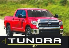 Toyota Tundra Windshield Tundra Off Road Racing 4x4 Decal Sticker Vinyl Wf Ebay
