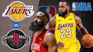 LA Lakers vs Houston Rockets - Halftime Highlights