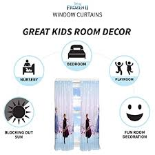 Franco Kids Room Window Curtain Panels With Tie Backs Drapes Set 82 X 63 Disney Frozen 2 Buy Products Online With Ubuy Thailand In Affordable Prices B07t7yzwk2