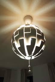beautiful exploding ikea pendant light