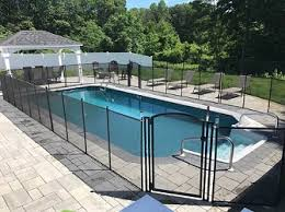 Pool Fence Colors Pool Fence In Black White Brown Tan Hunter Green Colors