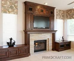 tv fireplace surrounds primo craft