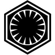 Amazon Com The First Order Galactic Empire Imperial Logo 6 Vinyl Sticker Car Decal 6 Black Automotive