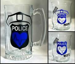Police Custom Vinyl Decal Stencil Sticker Wine Glass Mug Car Window Ebay