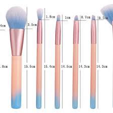 makeup brush set eye shadows
