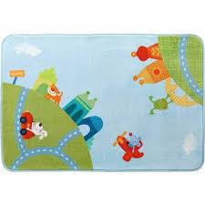 Haba Children S Room Decor Rug City Tour Whimsical Soft Play Rug Measures 51 5 X 35 5 Target