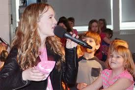 Frontenac News - On Pink Shirt Day, Abby Stewart Rocks GREC Auditorium