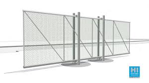 Cantilever Sliding Gates Post Mounted Youtube