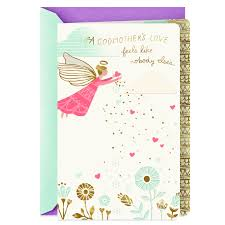 Angel of Love Mother's Day Card for Godmother - Greeting Cards - Hallmark