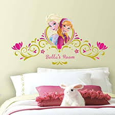Roommates Rmk2748gm Disney Frozen Springtime Custom Headboard Peel And Stick Giant Wall Decals Multicolor 40 5 X 20 75 Amazon Com