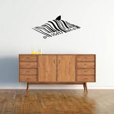 Banksy Wall Decal Bar Code Shark Iconic Banksy Wall Sticker Banksy Wall Stickers Wall Decals Wall Sticker