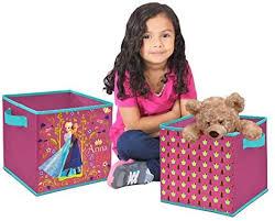 Amazon Com Disney Frozen Storage Cubes 2 Pack Toys Games