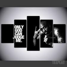 Tupac Quote Celebrity Canvas Wall Art Customized Canvas Art Canvas Wall Hanging Canvas Wall Art