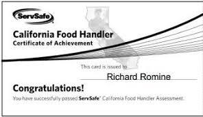 riverside county food handlers card