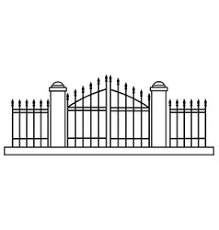 Cemetery Entrance Halloween Vector Images 77