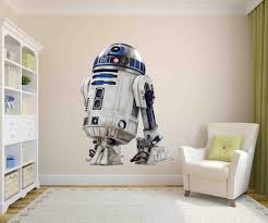 R2d2 Decal Star Wars Art Decor Star Wars Decal Droid Decal Etsy