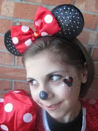 minnie mouse makeup face