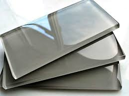 3x6 cool gray subway clear glass tile