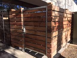 Horizontal Wood Fence Coggins Fence