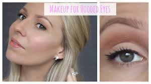 everyday makeup tutorial for hooded