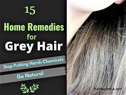 15 home remes for grey hair hair
