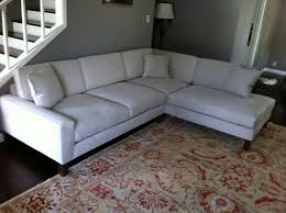 microfiber sectional round sofa next