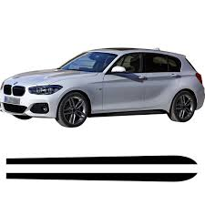 2pcs Pair Car Side Door Skirt Sticker Decals Vinyl Car Decal Accessories Styling For Bmw Series 1 Series 3 Series 4 Series 5 Series 6 L R Wish