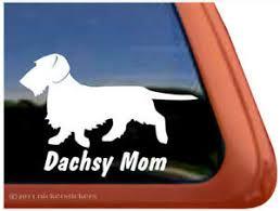 Dachsy Mom Wirehaired Dachshund Window Decal Ebay