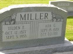 Ada Greene Miller (1888-1981) - Find A Grave Memorial
