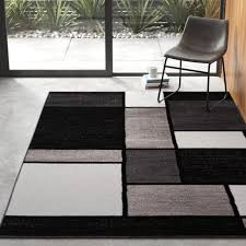 lorenzo gray black white area rug