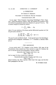 some remarks concerning schrödinger s