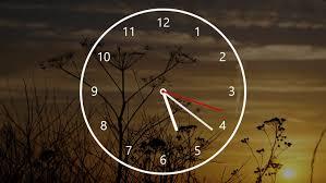 nightstand og clock app for windows